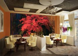 3D Große rote Blumen 255 Fototapeten Wandbild Fototapete BildTapete Familie - $52.21+