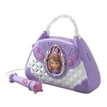 Kids Disney Sofia Boombox With Microphone Tunes Music Children Girls Sin... - $63.27