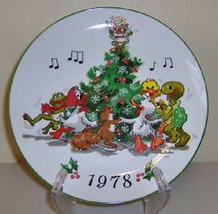 """1978 ENESCO Suzy Spafford """"Merry Christmas"""" Decorative Collector Plate - $49.99"""