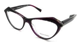 Alain Mikli Rx Eyeglasses Frames A03089 001 55-17-140 Noir Matrix Fuchsia Italy - $103.41