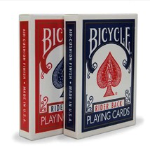 12 Decks Bicycle Rider Back 808 Standard Poker Playing Cards Red & Blue New  - $32.95