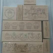 Stampin Up The More The Merrier Set Incomplete 9 Pieces Only - $18.80