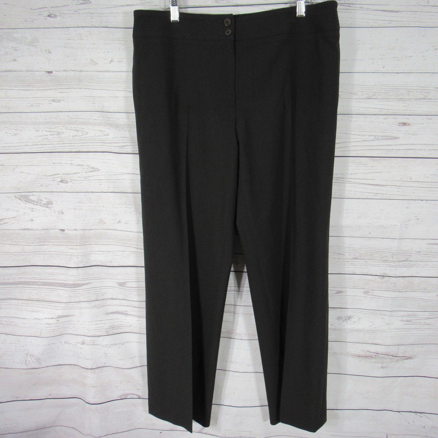 ce6d37ff Armani Collezioni Pants Womens 12 Brown 100% and 50 similar items