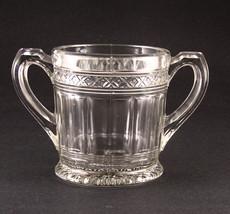 Indiana Glass Star Band Sugar Bowl Base EAPG - $9.75