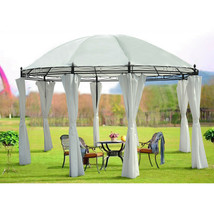 3x4M Metal Gazebo Pavilion Awning Canopy Sun Shade Shelter Marquee Tent ... - $187.98