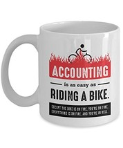 Funny Accountant Gift, Accountant Friend Mug, Accounting Coffee Mug - $24.49