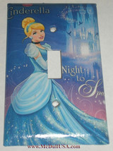 Cinderella Night sparkle Light Switch Power Outlet wall Cover Plate Home decor image 1