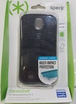 Speck CandyShell Samsung Galaxy S4 Case Black/Slate Grey - $9.49