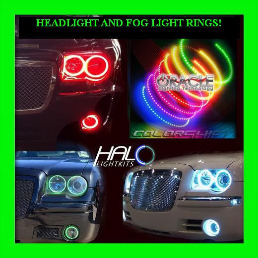 Primary image for 2005-2010 CHRYSLER 300C COLORSHIFT LED HEADLIGHT+FOG HALO KIT by ORACLE