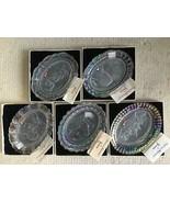 Set of 5 FOSTORIA American MILESTONES Ltd Ed Presidential Collector Plat... - $118.79