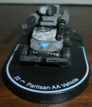 Partisan AA Vehicle 034 Mechwarrior - $3.69