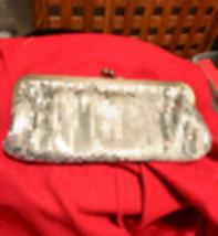 Vintage Silver Ann Taylor Loft Mesh Clutch - $38.41 CAD