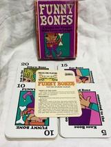 Vintage Funny Bones Parker Brothers Card Game Complete - $18.71