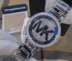 Michael Kors Women's Parker Silver-Tone Watch MK5925 - $128.69