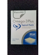 PatchMD Omega -3 Plus Patch 30-patches Patch-MD OM3 - $15.00