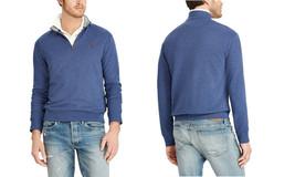 Polo Ralph Lauren Performance Jersey Half Zip Pullover Navy Heather Size XL - $69.29