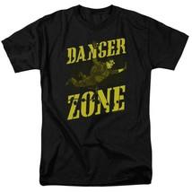 Archer Danger Zone T-shirt TV show cotton black graphic tee TCF495 image 1