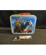 Cheerios miniature metal lunch box promo featuring Lone Ranger & Tonto - $13.82