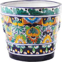 "Small Mexican Flower Pot ""Oaxaca"" - $75.00"