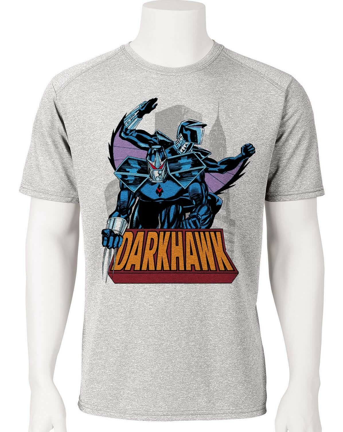 Darkhawk Dri Fit graphic Tshirt moisture wicking superhero comic book SPF tee