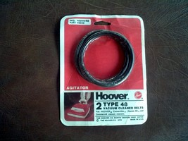 2 Genuine Hoover Style 48 Vacuum Cleaner Belts Uprights Convertible Decade 80 - $8.91