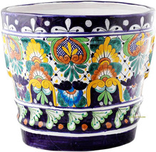 "Small Mexican Flower Pot ""Guadalajara"" - $75.00"