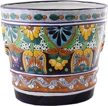 "Small Mexican Flower Pot ""Monterrey"" - $75.00"