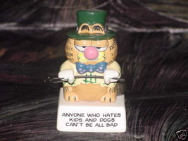 Enesco Garfield W.C Fields Ceramic Figurine Rare - $49.49