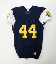 Nike Mach Speed Football Game Jersey #44 Men's M Navy Blue Gold 789929 - $44.55