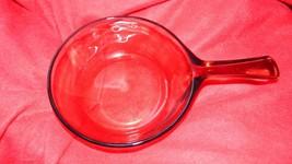 Pyrex Visions Amber .5 Liter 1/2 Liter Saucepan Free Usa Shipping - $16.82