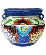 """Small Mexican Flower Planter """"Malinalco"""" - $75.00"""