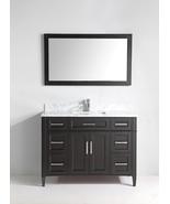 Vanity Art 48-Inch Single-Sink Bathroom Vanity Set W/Carrara Marble Top ... - $1,265.88