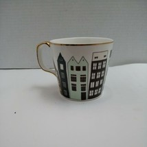 Grace's Teaware Mug Cup Amsterdam Holland Houses Gold Trim  - $21.95