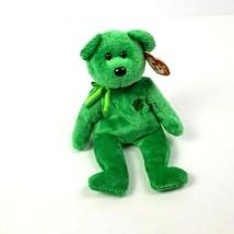 Ty Beanie Baby Dublin 2002 St. Patricks Day Green 10 Year Tag - $10.89