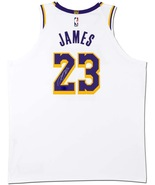 Lebron James Autographed Jersey LA Lakers Low Price Guarantee - $495.00