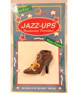 FREEBIE Jazz-Ups Resin Shoe Flatback Scrapbooking - Freebie