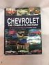 """Chevrolet """"The Complete History"""" by Consumer Guide ©1996 Hardcover Book First Ed - $14.84"""