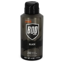 Bod Man Black By Parfums De Coeur Body Spray 4 Oz For Men - $12.07