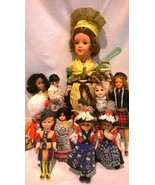 Vintage Multi-Cultural Dolls from Near and Far - $44.88