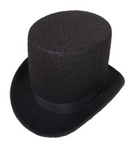 Jacobson Hat Company 16362 Small Black Coachman Costume Top Hat Victoria... - €13,90 EUR