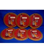 Rickards Honey Brown Beer Coasters Canada Souvenir set 6 - $5.99