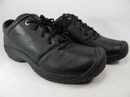 Keen Ptc Oxford Größe Us 9 M (B) Eu 39,5 Damen Geschnürt Arbeit Schuhe Schwarz