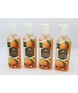 x4 Bath & Body Works Fresh Picked Sweet Tangerines Deep Cleansing Hand S... - $31.99