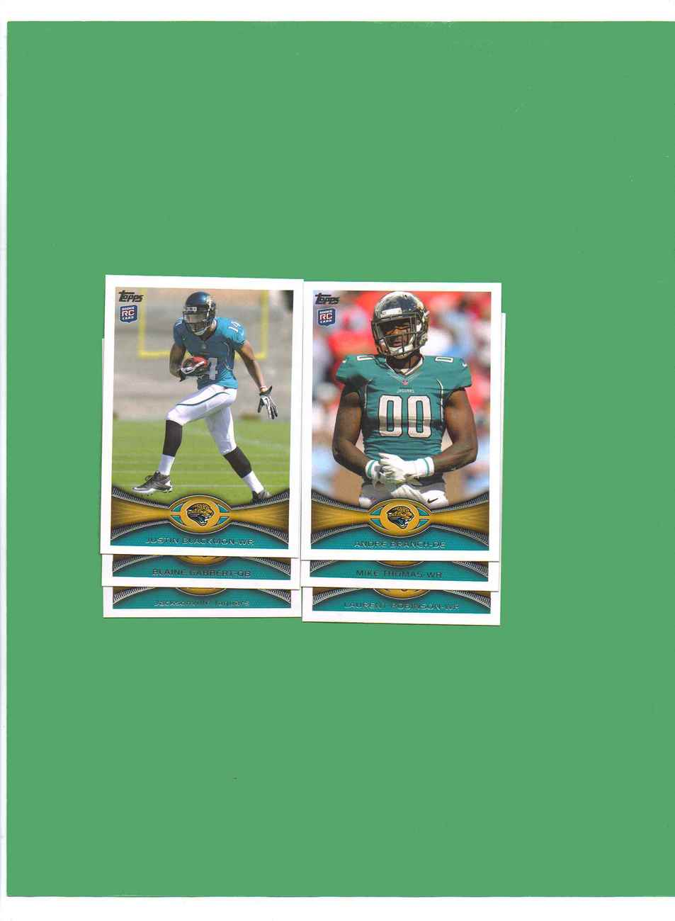 Primary image for 2012 Topps Jacksonville Jaguars Football Set