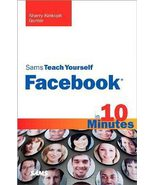 Sams Teach Yourself Facebook in 10 Minutes Book - Used - $5.99