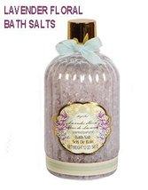 Lavender Floral Scented Bath Salts 12-oz. Bottle, Lovely gift! - $4.99