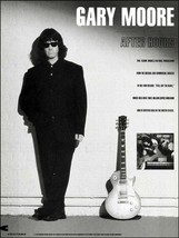 Gary Moore 1992 After Hours ad 8 x 11 Charisma Records advertisement print - $3.95