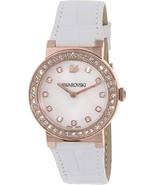 Swarovski Women's Citra 5027219 White Leather Swiss Quartz Watch - $199.99
