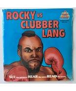 Rocky vs Clubber Lang SEALED 7' Vinyl Record / Book, Kid Stuff KSR 590, ... - £52.93 GBP