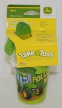 John Deere TBEKY9613A Take Toss Sippy Cups Three 10 Ounce image 1